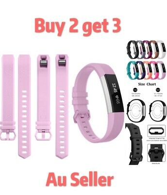 AU5.99 • Buy For Fitbit Alta HR Replacement Band Secure Strap Wristband Buckle Fitness