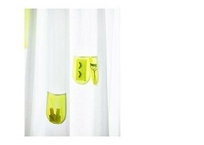 Ikea Sprutt Shower Curtain Mesh Pouches Pockets 180 X 180cm Cut To Size NEW  • 8.98£