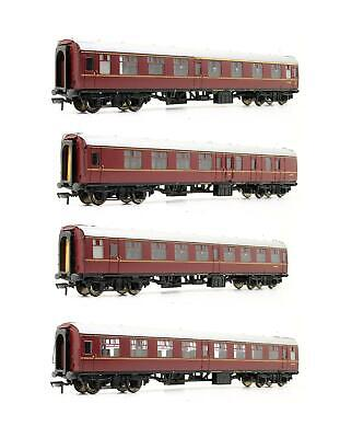 Bachmann 'oo' Gauge 39-000w Mk1 Br (wr) Four Coach Set *model Rail Exclusive* • 139.50£