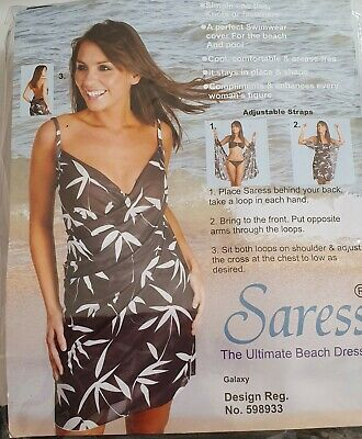 Saress Beach Dress New In Packet 14/16 • 4.99£