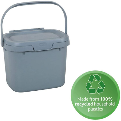 Addis Eco 100% Recycled Plastic Everyday Kitchen Food Waste Compost Caddy Bin, • 8.75£