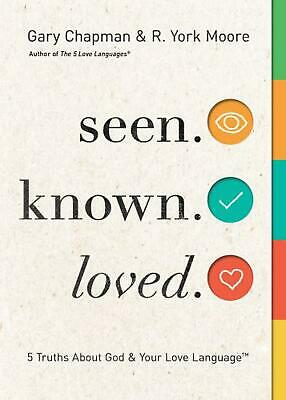 AU21.89 • Buy Seen. Known. Loved: 5 Truths About Your Love Language And God By Gary Chapman (E