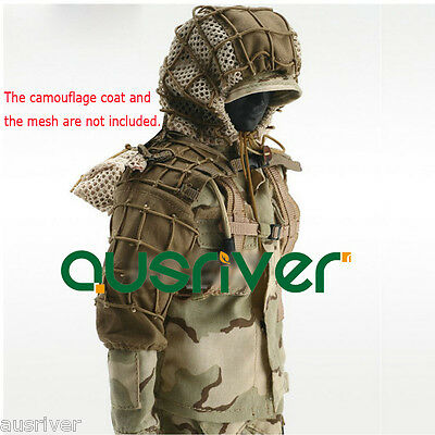 AU99.99 • Buy New Hooded Sniper Hunting Paintball Army Military Ghillie Suit Yowie Camouflage
