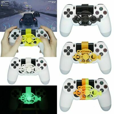 AU21.52 • Buy For Sony PS4 Game Controller Mini Steering Wheel PS4 Racing Gaming Accessories