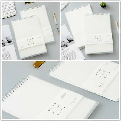 AU12.99 • Buy Lined Blank Grid Paper Diary Journal Sketchbook Notebook Upturn Coil Note Book M