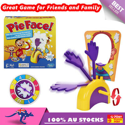 AU13.95 • Buy Pie Face Game Family Fun Filled Rocket Board Party Game Suspense Toy Best Gift