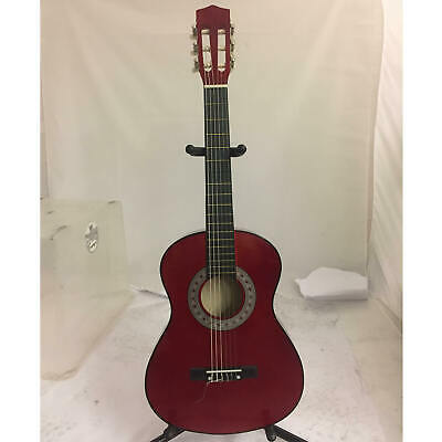 B GRADE - Tiger Red Childrens 1/2 Size Classical Guitar  • 23.50£
