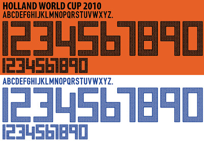 £13.99 • Buy Holland World Cup 2010 Away / Home Football Shirt Nameset Any Name & Number