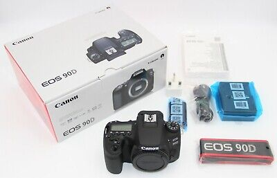 AU1990.38 • Buy NEW Canon 90D 32.5MP(Body Only) + 64gb SD Card.  2 YEARS WARRANTY