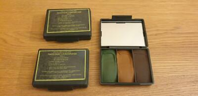 British Army Issue Face Paint Camouflage 3 Colour Non Irritant New X 3 • 9.99£