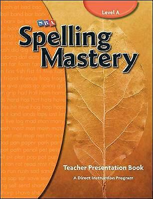 AU293.32 • Buy Spelling Mastery Level A, Teacher Materials, McGraw Hill, N/A,  Paperback