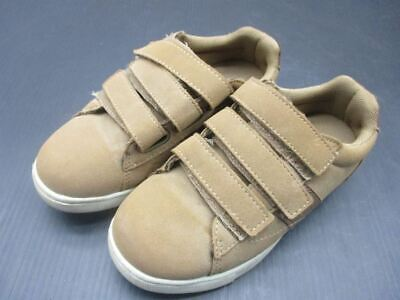 London Underground Size 13 Boys Brown Pu Leather Athletic Walk Shoes I • 18.14£