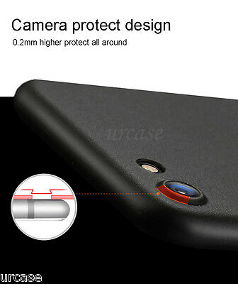 AU7.49 • Buy Luxury Black Ultra Slim Thin Shockproof Back TPU Case Cover For IPhone 8 7 Plus