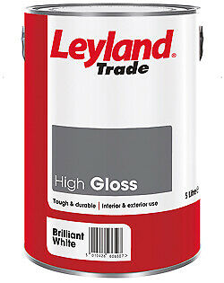 Leyland Trade High Gloss Paint - Brilliant White - All Sizes • 13.63£