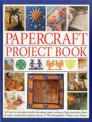 £7.38 • Buy Papercraft Project Book: 125 Step-By-Step Papier-Mache, Decoupage, Paper Cutting