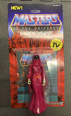 $31 • Buy 2019 MOTU Masters Of The Universe Shadow Weaver Figure Super7 He-Man *UNPUNCHED*
