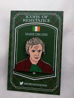 Icons Of Resistance Irish Republican Pin Badge Marie Drumm The Troubles Ireland • 6£