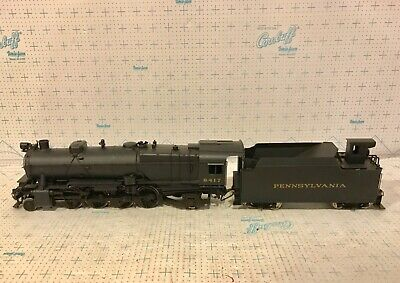 $ CDN790.92 • Buy O Scale Brass 2 Rail Prr 2-8-2 L1 Locomotive & Tender Deco As Cab #6417 Ktm Box