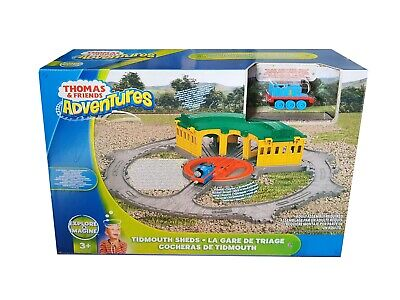 £23.99 • Buy Fisher Price Thomas And Friends Adventures Tidmouth Sheds With Turntable Toy Set
