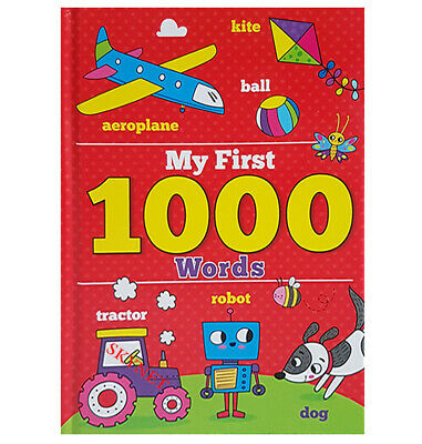 £6.99 • Buy My First 1000 Words & Pictures For Children Hardback Book For Baby & Toddler-new