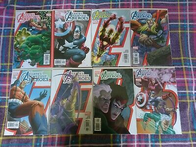 Avengers Earths Mightiest Heroes Complete 8 Issue Set 1 2 3 4 5 6 7 8 Marvel  • 14.99£
