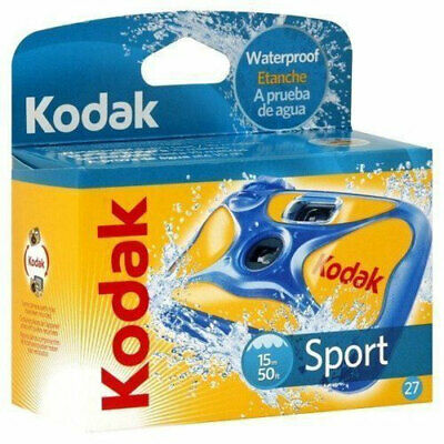 £17.95 • Buy Kodak Ultra Sport Underwater Disposable Camera