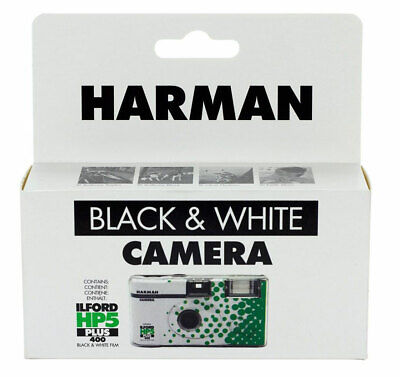 £14.95 • Buy Ilford HP5 Plus Black And White Disposable Camera (27 Exp)