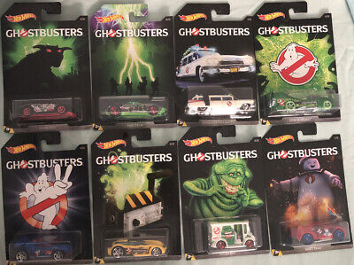 Hot Wheels - Ghostbuster - Cars 1 To 8 - Ecto-1 • 60£