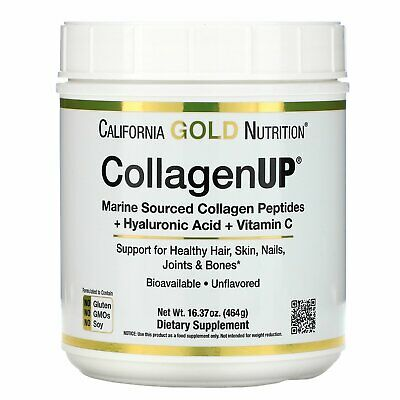 $39.96 • Buy California Gold Nutrition, Collagen UP, Unflavored, 16.36 Oz (464 G)