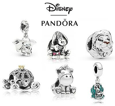 New Pandora Disney Silver Sterling Charm Ale 925 With Gift Pouch • 17.49£