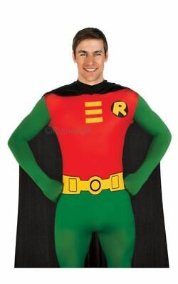 £31.99 • Buy Adult Batman Robin 2nd Skin Body Suit Mens Fancy Dress Stag Party Costume