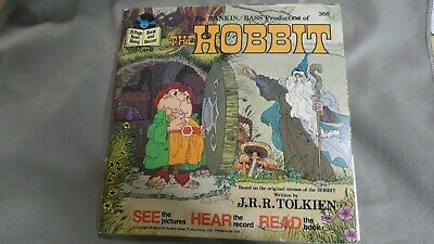 $39.99 • Buy  1977 Disneyland Rankin Bass THE HOBBIT 33RPM 7  Record & Book , Good +