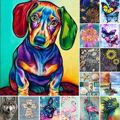 AU16.68 • Buy 5D Diamond Painting Full Drill Embroidery Cross Craft Stitch Pictures Art Kit AU