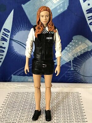Dr Doctor Who Amy Pond In Fancy Dress Police Uniform Action Figure • 10.99£