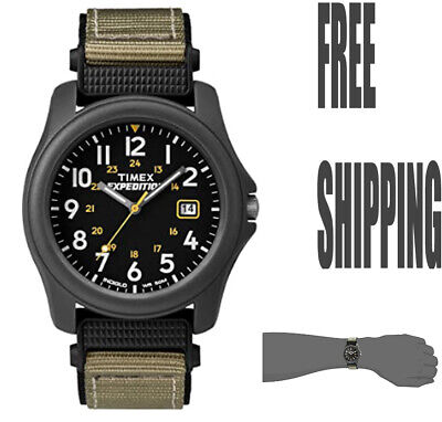 Timex Unisex T42571 Quartz Expedition Camper Watch With Black Dial Analogue • 33.99£