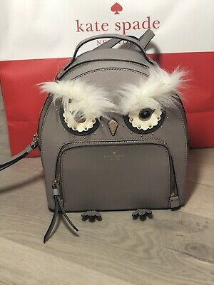 $ CDN152.85 • Buy Kate Spade Star Bright Owl Tomi Cityscape Leather Mini Backpack