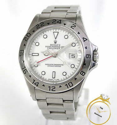 $ CDN8684.61 • Buy Rolex Explorer II 16570 White Dial Stainless Steel 40mm L Serial Year 1989