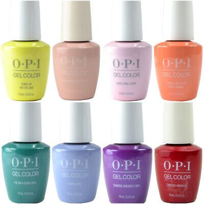 £18.95 • Buy OPI GelColor Gel Polish 15ml - (Sorted A - M) - 345 Colours