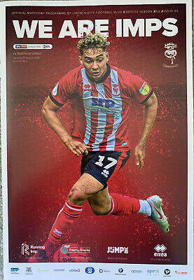 Lincoln City V Southend United 2019/20 • 2.99£