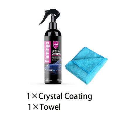 $13.99 • Buy 250ml Crystal Ceramic Car Glass Coating Paint Care Nano Hydrophobic Waterproof