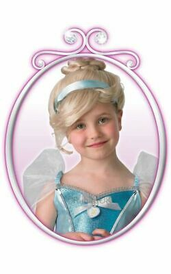 Cinderella Girls Disney Princess Wig Rubies Fancy Dress Costume Party Accessory • 13.99£