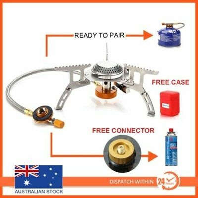 AU21.95 • Buy Outdoor Picnic Gas Jet Portable Stove Cooking Hiking Camping  Burner Cooker