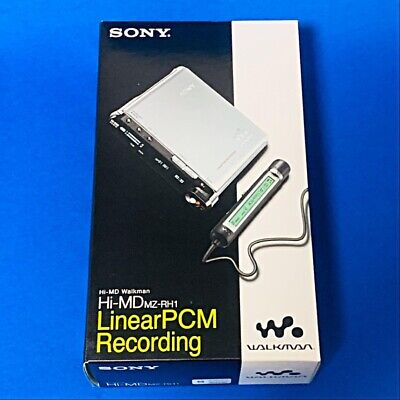 AU1945.05 • Buy Sony MZ-RH1 S Hi-MD Walkman MiniDisc/MP3 Digital Music Player Linear PCM New