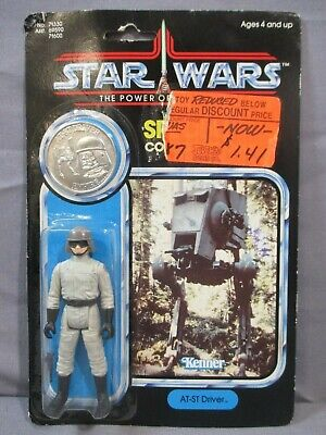 $ CDN171.35 • Buy STAR WARS Vintage AT-ST DRIVER Power Of The Force Factory Sealed POTF 1984 MOC