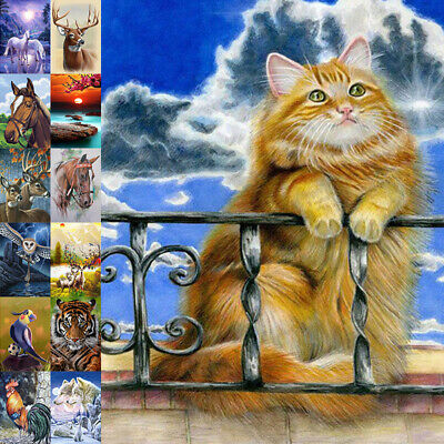 AU14.75 • Buy 5D Full Drill Diamond Painting Horse Embroidery Cross Stitch DIY Kit Home Decor
