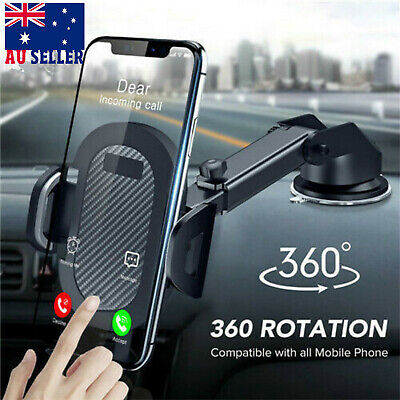 AU17.59 • Buy 360° Car Suction Cup Universal Mobile Phone Holder Stand Windscreen Mount