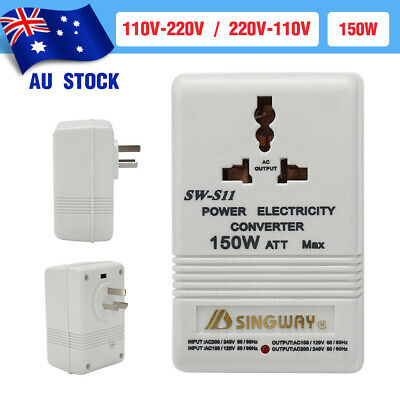 AU32.89 • Buy Transformer Converter Adapter 240V To 110V Step Down Up 150W Travel Adapter AU