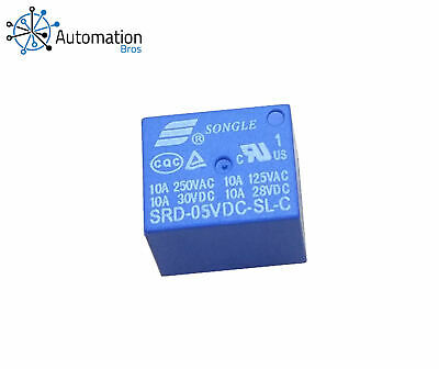 AU4.99 • Buy Songle 5V DC SRD-05VDC-SL-C 5 Pin Power Relay