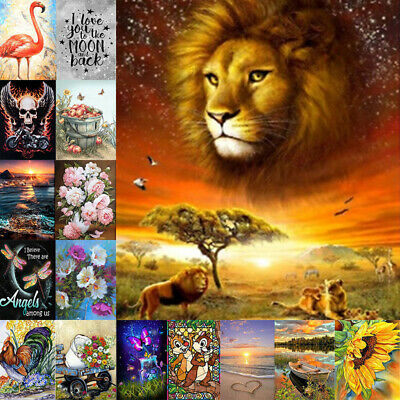 AU15.29 • Buy 5D DIY Diamond Painting Drill Embroidery Landscape Animal Art Cross Stitch Gifts