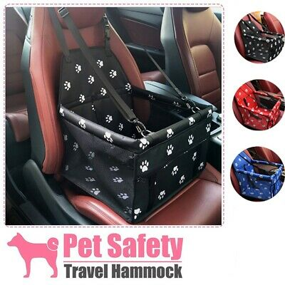 Large Car Seat Carrier Cat Dog Pet Puppy Travel Cage  Booster Belt Bags • 14.92£